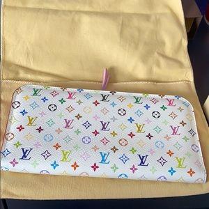Louis Vuitton Multicolor White Insolite Wallet